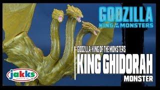 Jakks Pacific Godzilla: King of the Monsters King Ghidorah Figure Review