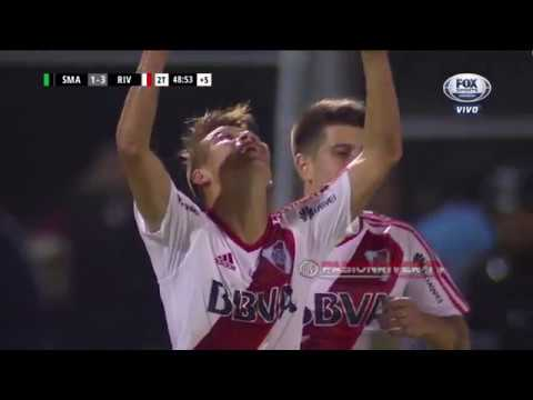 San Martin (SJ) vs River Plate (1-3) SuperLiga 2017/18 - Fecha 3 - Resumen FULL HD