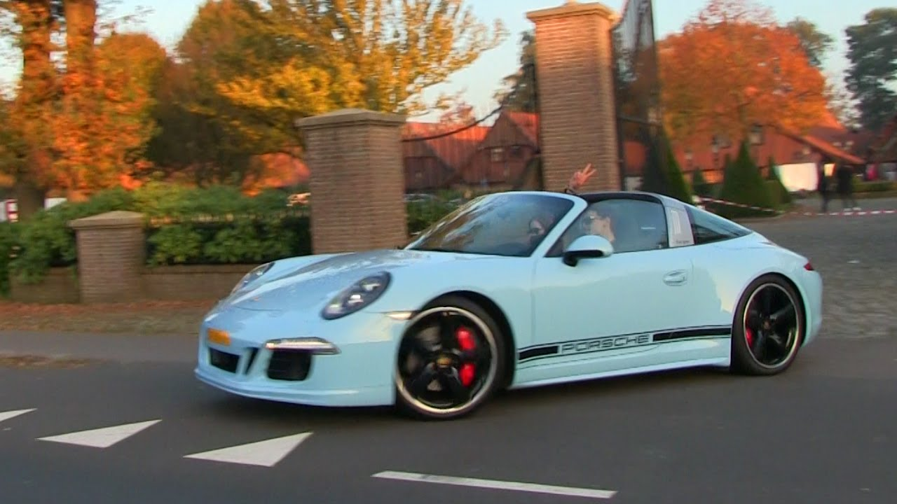 1 Of 15 Porsche 991 Targa 4s Exclusive Edition Redline