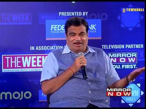 """Kaafi weak Hai"" : Nitin Gadkari on Rahul Gandhi"