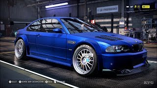 Need for Speed Heat - BMW M3 2006 - Customize | Tuning Car (PC HD) [1080p60FPS]