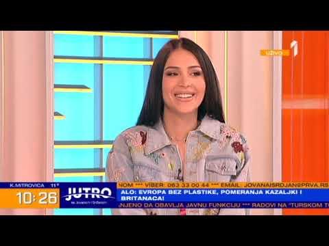 Anastasija - Jutro sa Jovanom i Srdjanom - (TV Prva 2019)