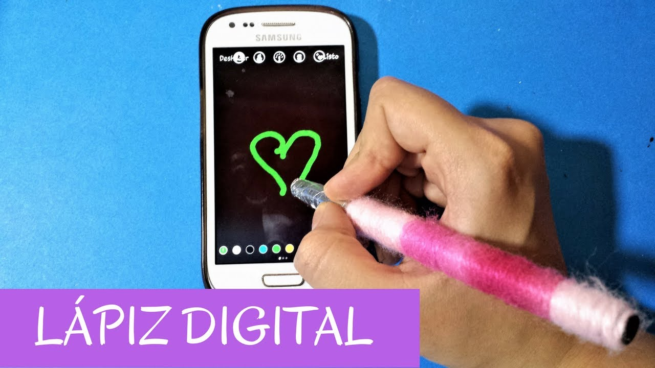 Lápiz Para Celular O Tablet Stylus Moonrise Youtube