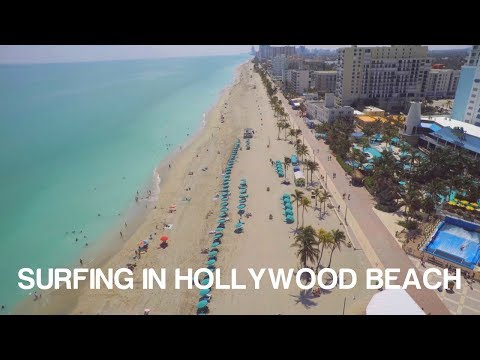 Florida Travel: Learn to Surf in Hollywood Beach