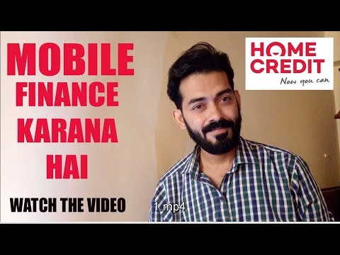 how to buy mobile on EMI/finance | from home credit | without debit card and credit card