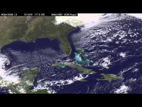 El post-ciclón tropical Sandy se dirige a los Grandes Lagos