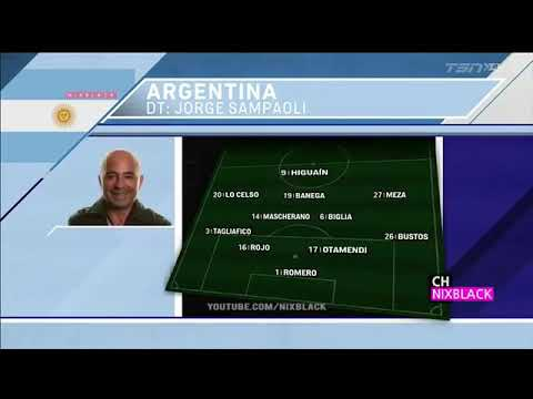 Spain VS Argentina(6:1) 27/03/18Friendly Match