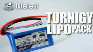 Flite Test - Turnigy LiPo pack - REVIEW