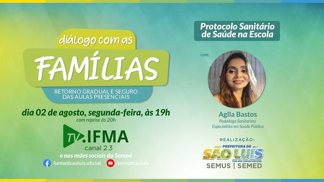 Vídeo: Protocolo de Saúde Na Escola - Semed + TV IFMA