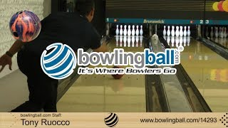 bowlingball.com Brunswick Cutting Edge Hybrid Bowling Ball Reaction Video Review