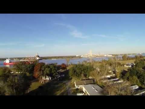 Quick flight over Flint's property