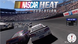 nascar heat evolution gameplay breakdown
