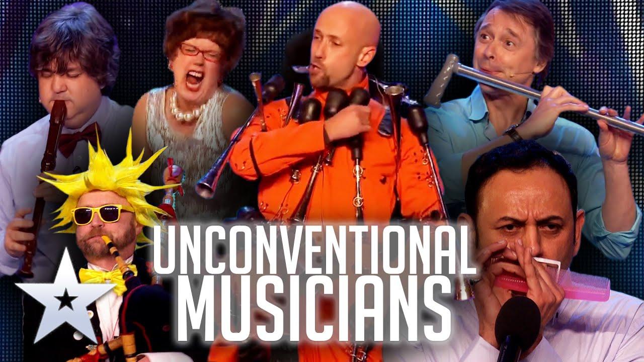 UNCONVENTIONAL MUSICIANS!   Britain's Got Talent