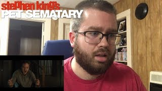 Pet Sematary (2019) Official Trailer Reaction!
