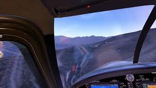 [XP11] Talcha airport landing exercise #1 (Cockpit view)