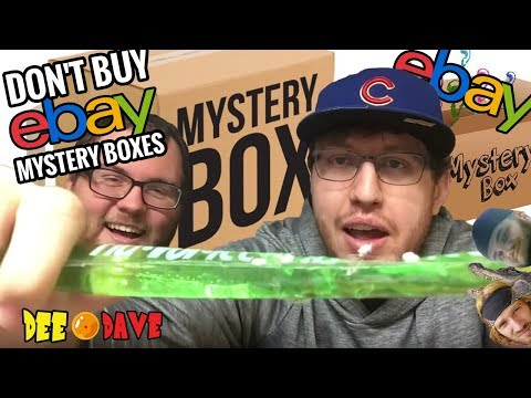 Why you SHOULDN'T BUY an eBay Mystery Box   Dee Dave