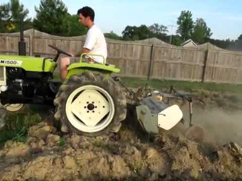 yanmar ym1500d with tiller youtube rh youtube com Yanmar 1500D 4x4 Tractor Yanmar YM1500 Tractor