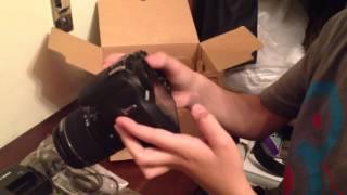 انبوكسينق كاميرا كانون 1200d +ستاند unboxing