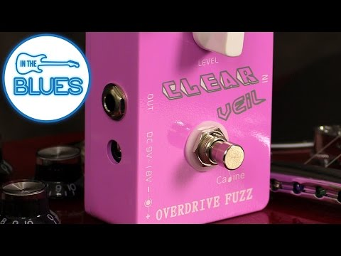 Caline Clear Veil Fuzz Overdrive Pedal