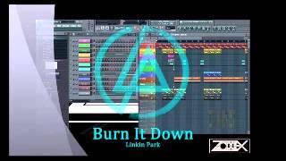 Linkin Park - Burn it Down Instrumental + Vocals / FL Studio 10