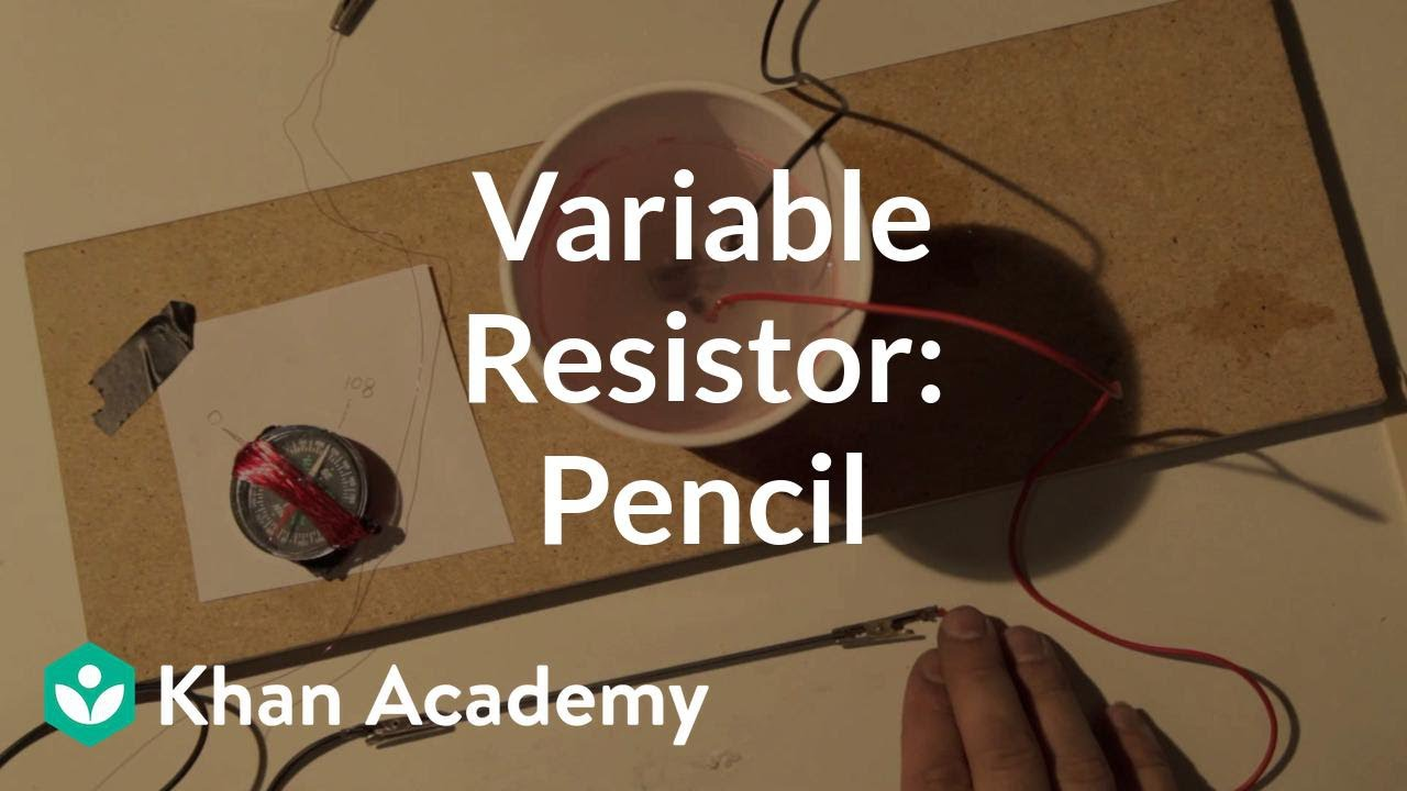 Variable Resistor Pencil Discoveries And Projects Physics Wiring