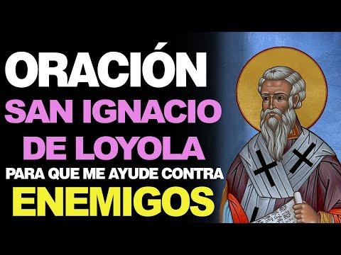🙏 Oración a San Ignacio de Loyola CONTRA LOS ENEMIGOS 🙇
