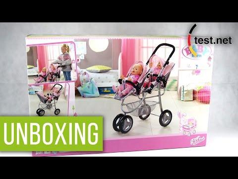 Zapf Creations | Baby Born Zwillingspuppenwagen (Unboxing) | test.net