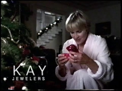 Kay Jewelers Diamond Earrings Holiday Commercial (2001)