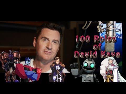 100 Roles of David Kaye