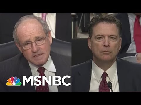 Jim Risch To James Comey: Would President Trump's 'Hoping' For An Outcome Be Obstruction? | NBC News