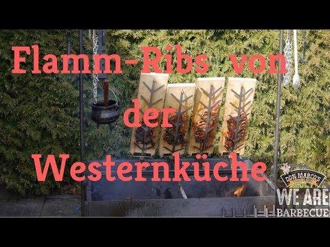 Spareribs Gasgrill Sizzle : Don marcos flamm ribs von der westernküche spare ribs vom feuer