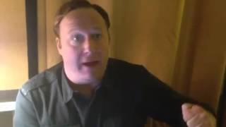 Corrupt cops in New York stalk Alex Jones  after CNN Piers Morgan interview. 9/11, Operation Gladio