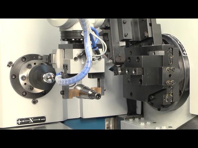 Kugeldreh- und Poliermaschine