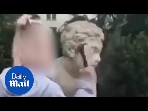 Chris Proctor - IG Model Defaces 200 Year Old Statue For Likes And Followers
