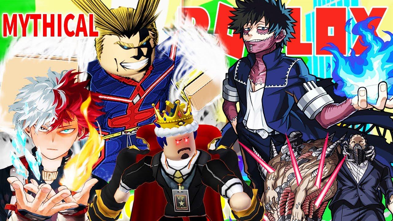 Roblox - SỞ HỮU ANH HÙNG MẠNH NHẤT ALL MIGHT SIÊU HIẾM THẦN THOẠI MYTHICAL -Anime Fighters Simulator