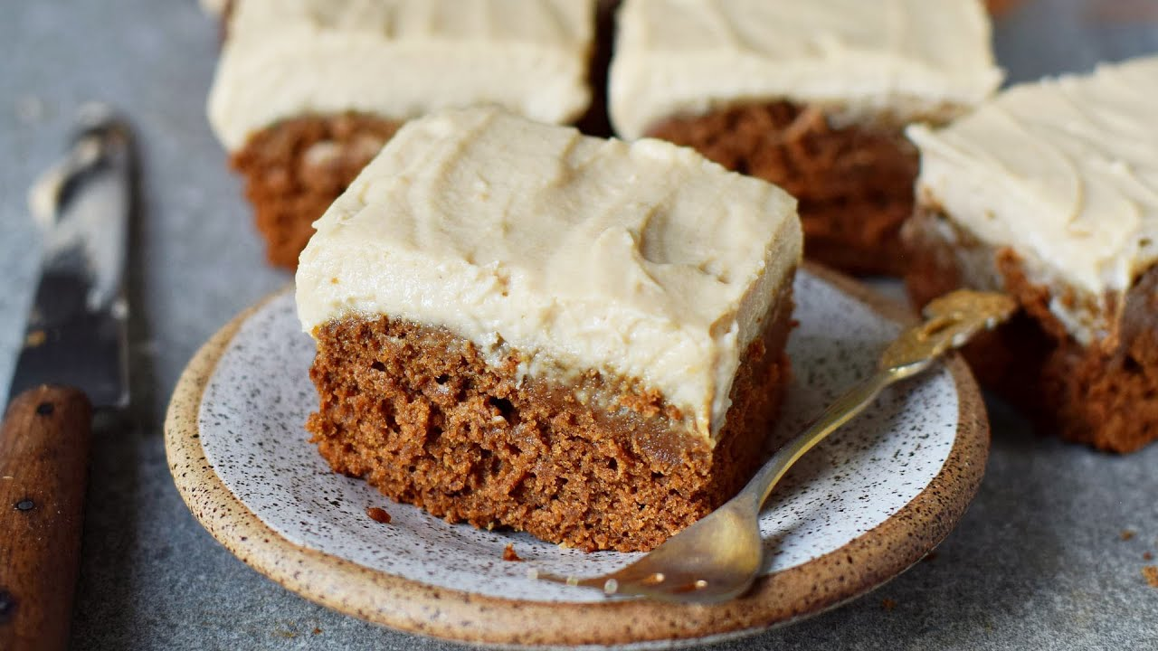 Vegan Gingerbread Cake (Gluten-Free, Oil-Free, Recipe)
