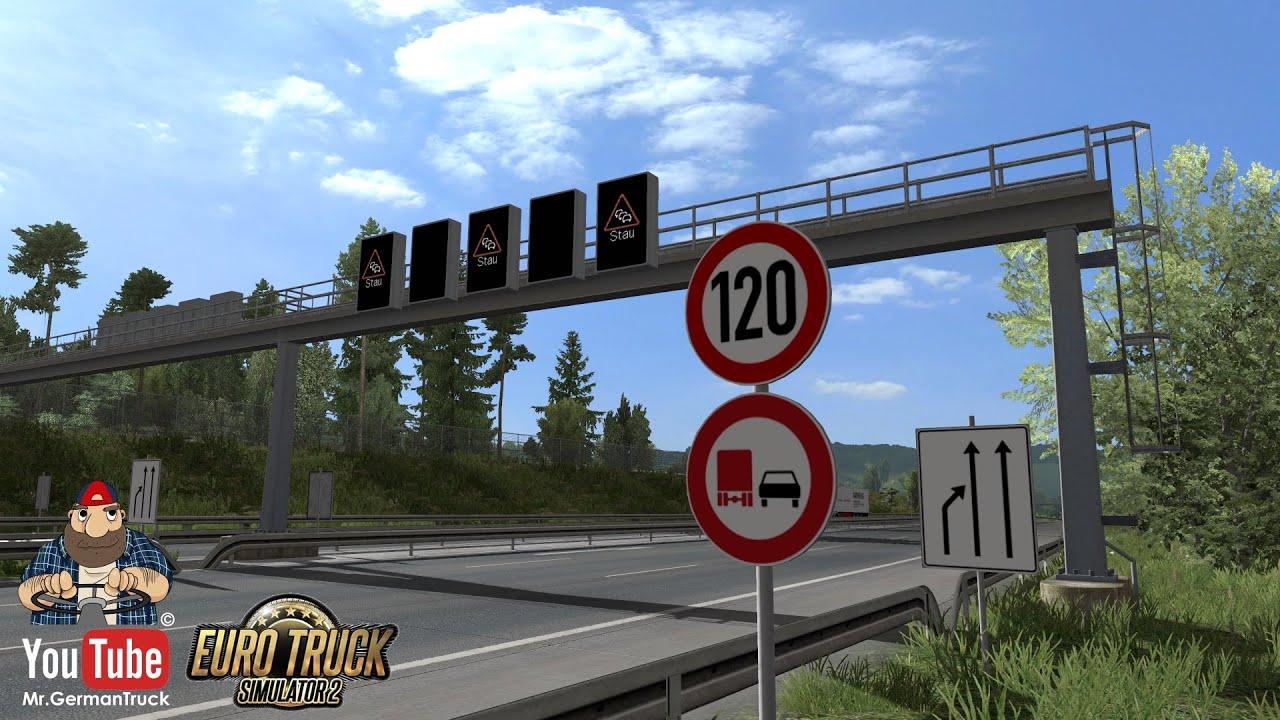 [ETS2 v1.36] Traffic Signs improved *Traffic Jam*