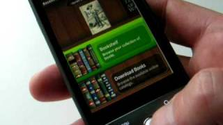 Aldiko ebook reader on the Android HTC Hero