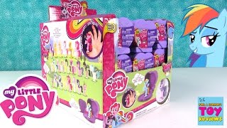 Squishy Pops My Little Pony MLP Series 2 Full Box Opening | PSToyReviews