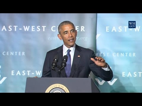 President Obama Delivers Remarks at the 2016 Pacific Islands Conference of Leaders