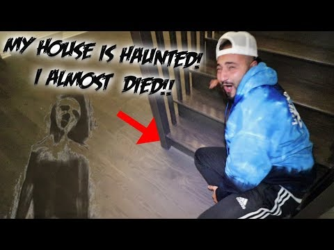 MY HOUSE IS HAUNTED *I HAVE PROOF* GHOST ACTIVITY CAUGHT ON CAMERA WHILE GAMING!
