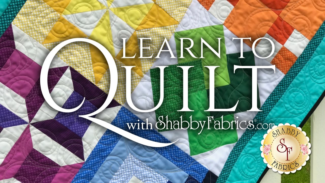 Learn To Quilt Series   With Shabby Fabrics - YouTube : learn quilting - Adamdwight.com