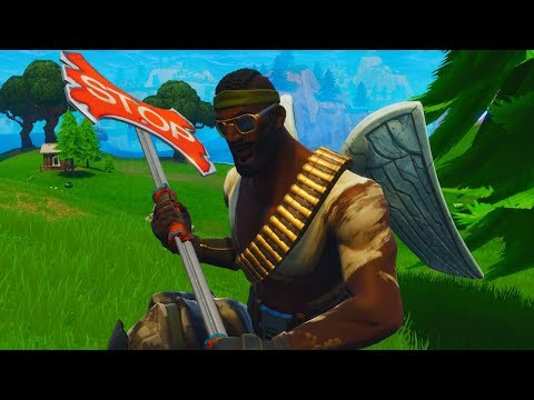 New fortnite skin + pickaxe! top solo player!