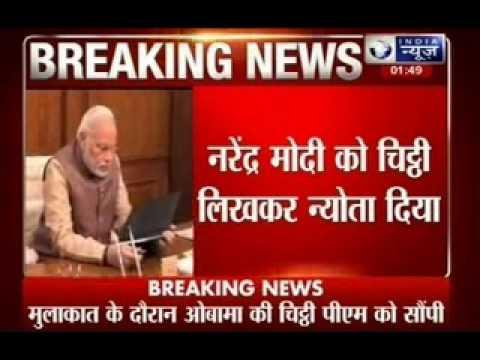 President Barack Obama formally invites Prime Minister Narendra Modi