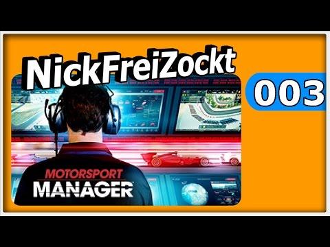 Motorsport Manager PC V1.3.1 #003 ► S1 R1 Vancouver GP Training ► Motorsport Manager PC german