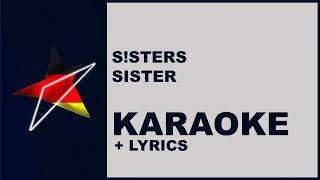 S!sters - Sister (Karaoke) Germany - Eurovision 2019