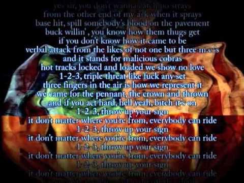 Twiztid & Blaze Ya Dead Homie - Mutant DVD Segments - Triple Threat Karaoke