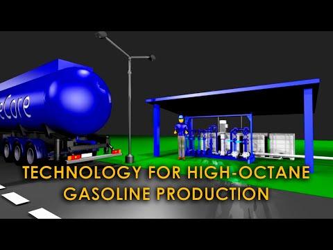 Gasoline blending. Blending (compounding) of fuels and increasing of gasoline octane number