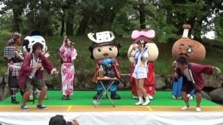 2016.9.18 丸亀城シルバーフェスタ 坂井市PRキャラ VS 丸亀おもてなし隊...