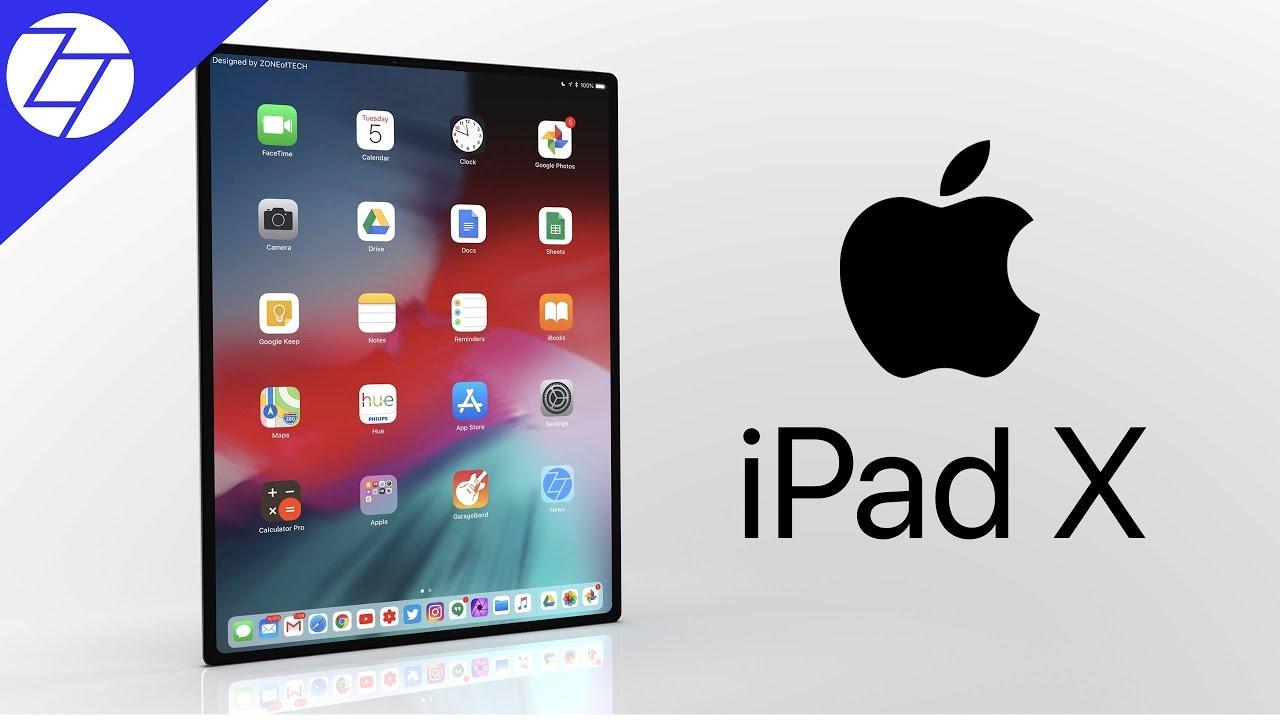 Tablični računalnik iPad Pro 2018 ali iPad X